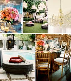 Moroccan touches and extra chandeliers make this wedding extra inviting. #viceroy #wedding