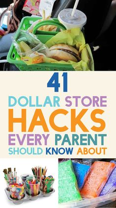 41 Dollar Store Hacks Every Parent Should Know About