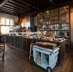 Bakkerswinkel, Piet Hein Eek interior