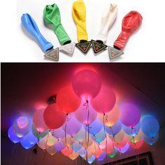 40x LED Ballons Geburtstag Hochzeit Party Deko Club Licht Mehrfarbig Luftballons | Möbel & Wohnen, Hochzeitsdekoration, Ballons | eBay!