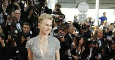 Naomi Watts in an Elie Saab gown and Bulgari jewelry at Cannes 2015,