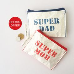 Best gift for anniversary gift idea for a couple super mom Super Mom, Clutch Wallet, Product Design, Anniversary Gifts, Wallets, Best Gifts, Illustration Art, My Etsy Shop, Reusable Tote Bags