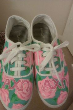 """I want to do something like this for ADX. :)   Maybe write out """"alpha delta chi"""" in cursive? So many ideas! :D"""