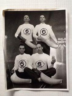 Vintage 8 x 10 photo Channel 6 SAN DIEGO XETV Jai-Alai Team