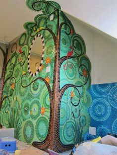 Tree on wall...wow!