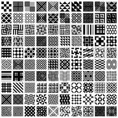 100 Geometrische Nahtlose Muster Eingestellt, Schwarz Und Weiß Vektor-Hintergründe Sammlung. Lizenzfrei Nutzbare Vektorgrafiken, Clip Arts, Illustrationen. Image 30251090.