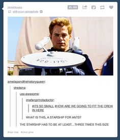 Star Trek x Zoolander. You can add that line from Zoolander to everything and it's still hilarious. Zoolander, Star Wars, Starship Enterprise, Funny Times, Superwholock, I Laughed, Nerdy, Tv, At Least