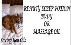 Beauty Sleep Potion Body Oil Inspired by by LovingYouOilsAndMore