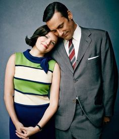Mad Men's Peggy Olsen and Don Draper