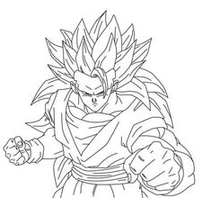 Bardock DBZ Coloring Sheets and Lineart - Enjoy Coloring ...