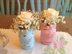 baby shower idea mint and gray