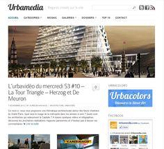 #Urbamedia vous propose une thématique architecturale autour des futurs chantiers du Grand Paris. Quel sera le visage de la métropole dans les années à venir ?  #TourTriangle http://tour-triangle-paris.com/l-urbavideo-du-mercredi-s3-10-la-tour-triangle/