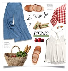 """""""Picnic in the Park"""" by marina-volaric ❤ liked on Polyvore featuring Forever 21, Abercrombie & Fitch, Design Imports and picnic"""