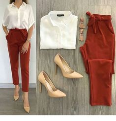 Trend Outfits for Work Fashion Casual Work Outfits, Business Casual Outfits, Professional Outfits, Mode Outfits, Office Outfits, Classy Outfits, Chic Outfits, Trendy Outfits, Fall Outfits
