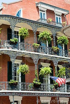 architecture in new orleans | New Orleans French Quater Royalty Free Stock Images - Image: 11315449