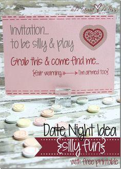 Date Night Idea {silly fun} http://www.mamamiss.com ©2013