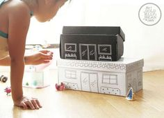 Help kids' imaginations soar—and make cleanup a breeze—with these fun little homes that are perfect for both playtime and storage. With a couple of shoeboxes, paint, and markers you and your kids can spend a rainy afternoon upcycling your spares into these adorable projects that will bring smiles to little ones' faces for years to come.