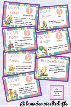 Teacher Helper, Teacher Binder, Teacher Tools, Escape Room Challenge, Breakout Edu, Spy Birthday Parties, Holiday Club, School Plan, History For Kids
