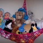Free Crochet Pattern! Toy Hammock