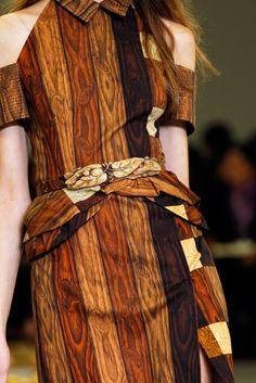 Rodarte Spring Summer 2011 - Wood dresses - wood fashion