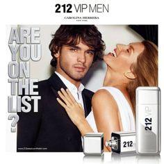 PoshFashion: Carolina Herrera 212 VIP Men Fragrance Campaign