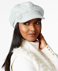 63e35b24d Nine West Boucle Newsboy Hat   Reviews - Handbags   Accessories - Macy s