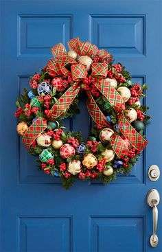 132 best welcoming wreaths images on pinterest in 2018 ornaments christmas crafts and christmas deco - Lowes Christmas Wreaths