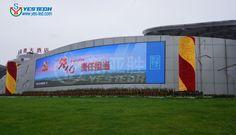 P6.25 outdoor led display in Changsha Venus Square http://www.yes-led.com/en/displaycases.html?proID=2008118&proTypeID=163667
