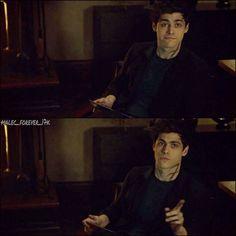 Matthew Daddario as Alec Lightwood on Shadowhunters