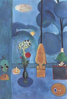 Matisse The Blue Window oil painting reproduction on canvas