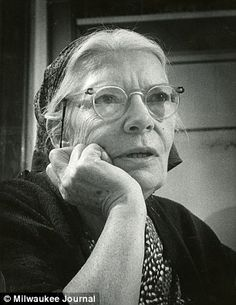 Latter day saint: Dorothy Day was praised by Pope Francis during a speech made to Congress today