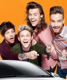 Notice that they gave the car keys to nialler and not Lou!!haaaaaaa the world knows! !
