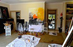 Jutta Muller Artist - Studio