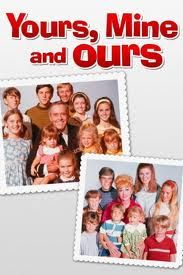 Yours, Mine, and Ours (1968) - When a widower with 10 children marries a widow with 8, can the 20 of them ever come together as one big happy family? From finding a house big enough for all of them and learning to make 18 school lunches, to coping with a son going off to war and an unexpected addition to the family, Yours, Mine and Ours attempts to blend two families into one and hopes to answer the question Is bigger really better?