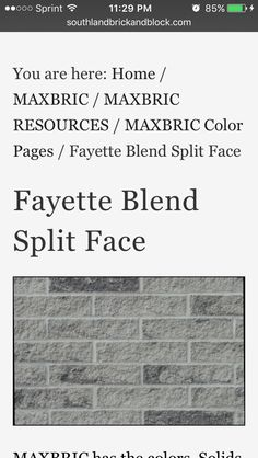 Ebonite Brick Sioux City Brick Co Black Mortar Instead Of White
