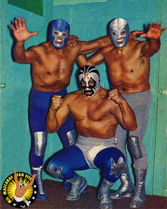 Legends Lucha Libre Mexico Blue Demon - Santo - Mil Mascaras