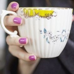 Nature Table Teacup #anthroregistry