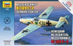 Zvezda Messerschmitt bf-109 - Modeledo.pl