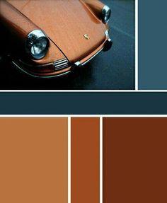 Bedroom Paint Color Schemes and Design Ideas Blue Gray Paint Colors, Best Paint Colors, Bedroom Paint Colors, Paint Colors For Home, Teal, Brown Color Schemes, Paint Color Schemes, Living Room Color Schemes, Kitchen Color Palettes