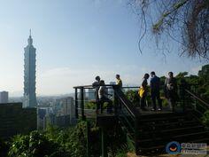 象山步道新建完成三座觀景台
