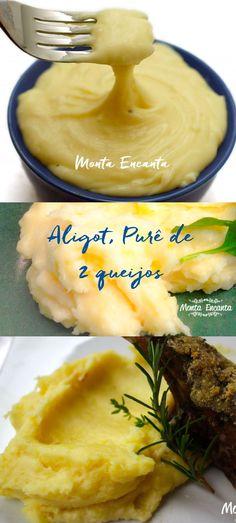 Purê de dois queijos, O famoso Aligot, purê que estica