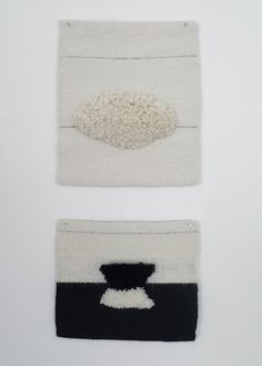 small woven pieces