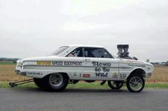 """Ford Falcon gasser """"blown to be wild"""""""