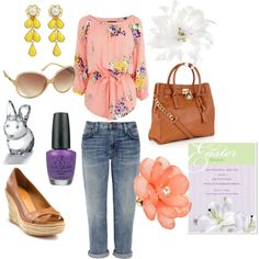Easter Brunch is a tradition that calls for a warm, fresh, colorful meal and deserves and outfit to compliment it! Casual yet sweet is the key for this look!