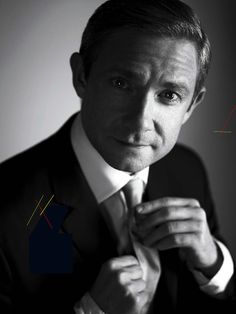 Woah. ....8o.....This picture caught my breath:) Martin Freeman is truly charming!