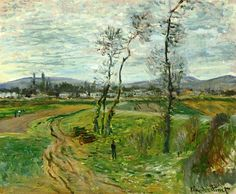 Gennevilliers Plain 1877 Claude Monet
