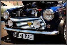 Cool story from Gary owner of this '83 Austin Mini. I know not many people read much these days but I love this type of input from owners I meet  Although the car was in pretty good condition it has taken some effort tracking down parts getting rid of rust and a lot of TLC to bring the car into the condition it is in today.  The car allows me to feed my need for having a special weekend toy without the inherent dangers of being on the motorcycle. When I see the car in my garage it brings a…