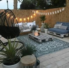 Budget Patio, Patio Garden Ideas On A Budget, Diy Patio, Backyard Patio, Diy Pergola, Pavers Patio, Backyard Landscaping, Backyard Ideas, Cement Patio
