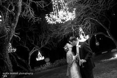 Romantic chandeliers on trees: A MUST! Weddings at Le San Michele