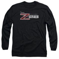 Chevy Z28 Logo Adult Long Sleeve T-Shirt
